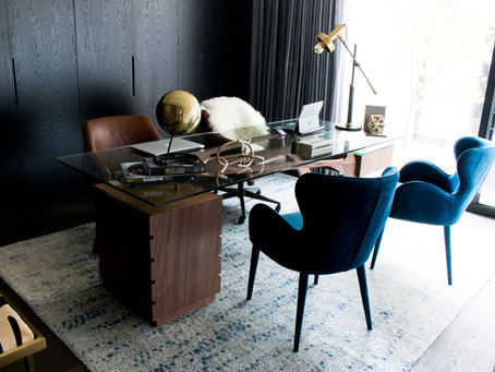 5 tips for creating a stylish and functional home office space.