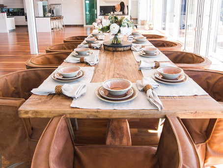 How to create a table setting design with Edge Design
