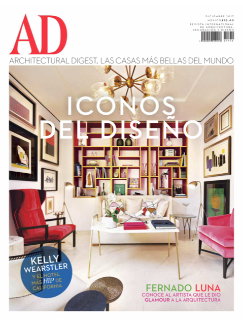 ARCHITECTURAL DIGEST SEPTIEMBRE 2017