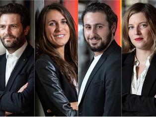 Découvrez les parcours des 4 cofondateurs de YOurmission.