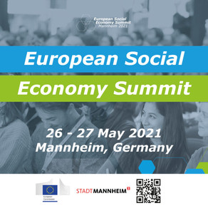 Notre Co-fondatrice Jeanne Bretécher au Sommet Européen de Mannheim sur l'Economie Sociale.
