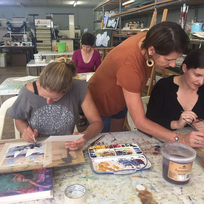 Master Class in Oils