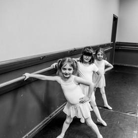 Ballet Barre Time!