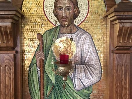Welcome to the St. Jude Byzantine Catholic Blog!