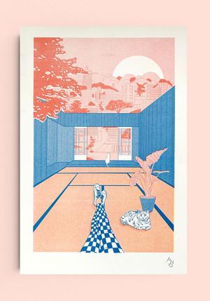 riso print Tatami