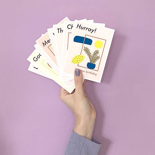 Postcard 8-pack