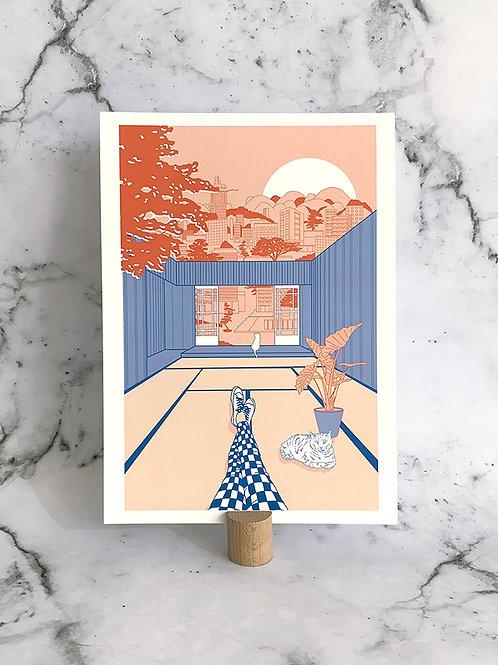 A4 print Tatami