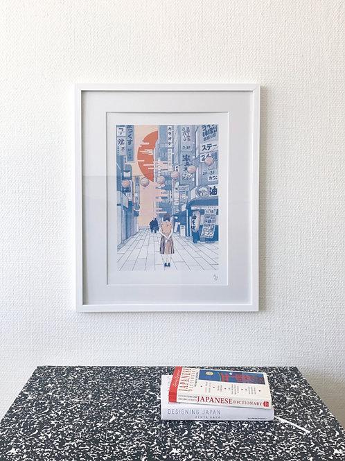 A3 print Tokyo