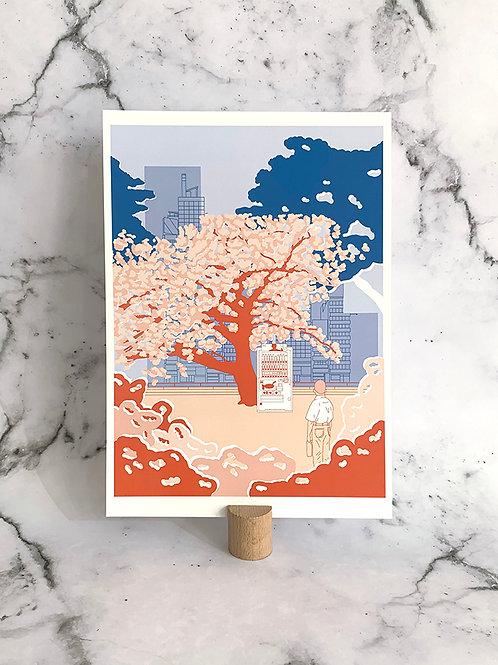 A4 print Blossom