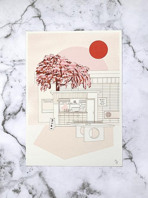 A3 print Coffee