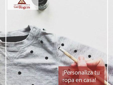 ¡Personaliza tu ropa en casa!