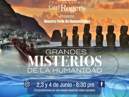 Feria de Humanidades: Grandes Misterios de la Humanidad