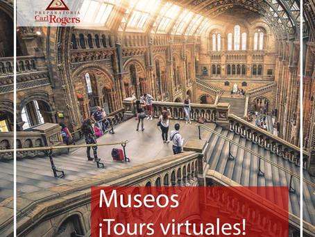 Museos ¡Tours virtuales!