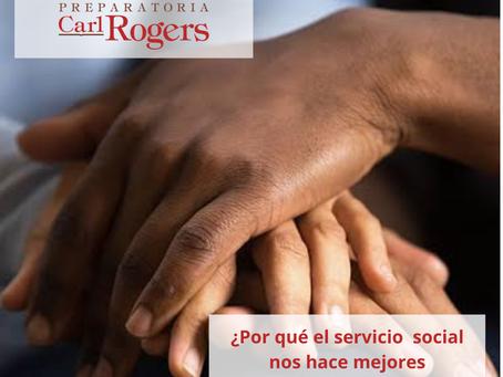 5 COSAS POR QUÉ EL SERVICIO SOCIAL NOS HACE MEJORES PERSONAS