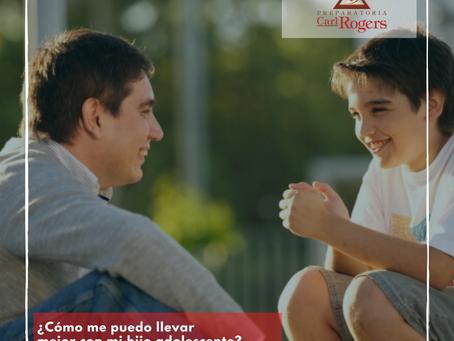 ¿Cómo me puedo llevar mejor con mi hijo adolescente?