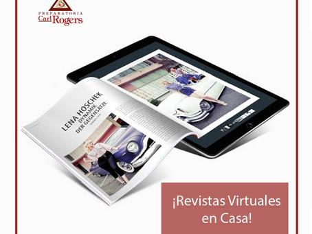 ¡Revistas Virtuales en Casa!