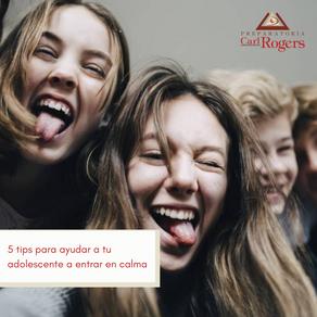 5 tips para ayudar a tu adolescente a entrar en calma