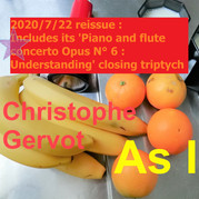 As I Understanding closing triptych reissue draft art by Christophe Gervot, 2020