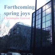 Forthcoming spring joys draft art by Christophe Gervot, 2021