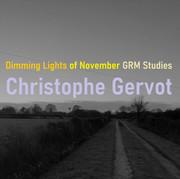 Dimming lights of November GRM Studies draft art by Christophe Gervot, 2021