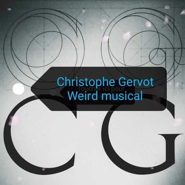 Weird musical draft art by Christophe Gervot, 1986-2019