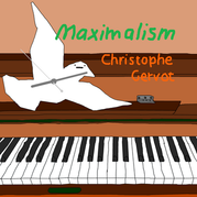 Christophe Gervot's 'Maximalism' draft art second version by artist Harry Cature, after first version by Christophe Gervot, 2021