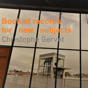 Book of records for new subjects draft art by Christophe Gervot, 2020