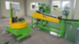 tread finishing line