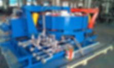 segment curing press