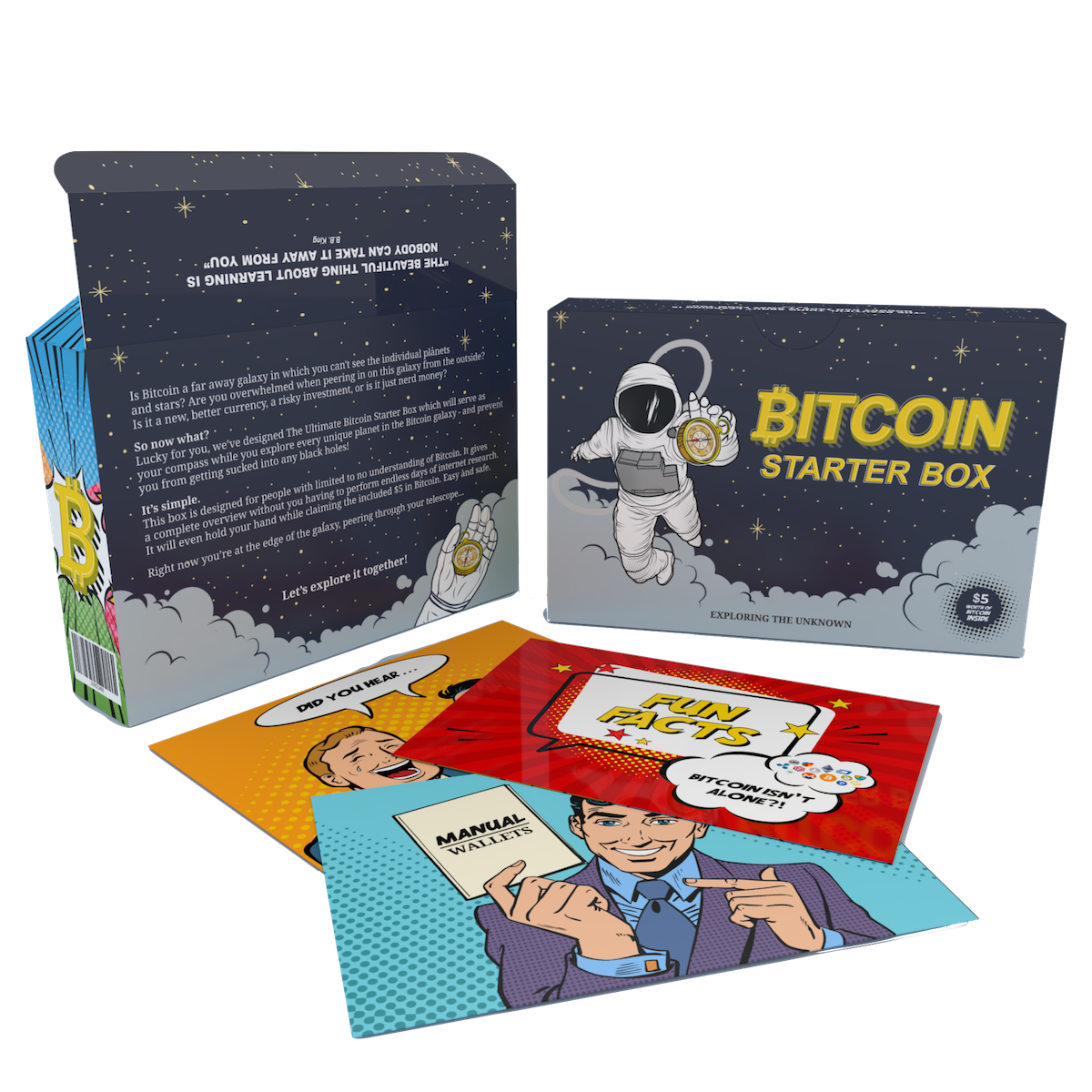 Bitcoin Starter Box back