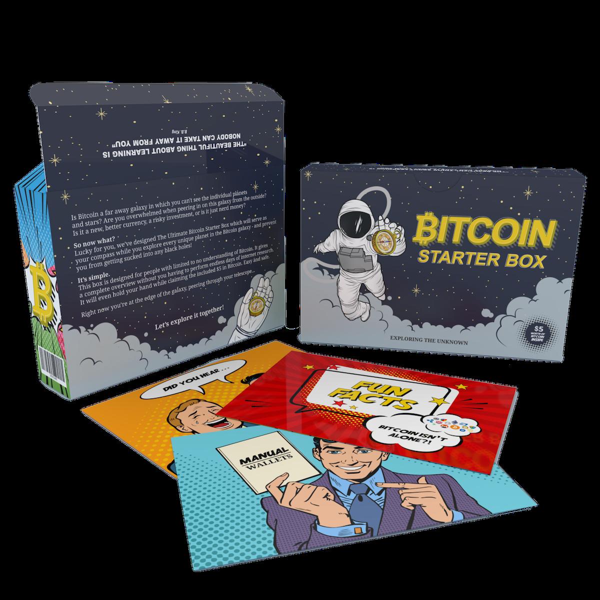 Bitcoin Starter Box back