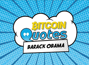 Bitcoin Starter Box: example card of quote Barack Obama