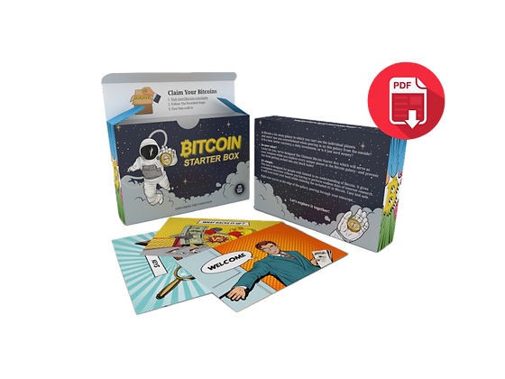 Bitcoin Starter Box - Online version