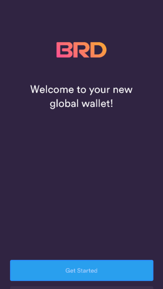 BRD wallet: step-by-step instructions: 1