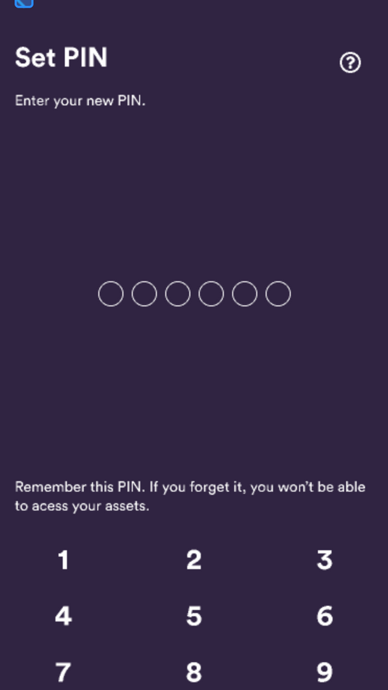 BRD wallet: step-by-step instructions: 5