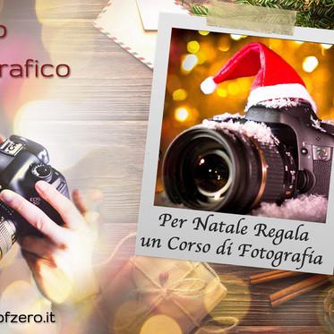 Offerte sui corsi di Fotografia per il Natale 2020