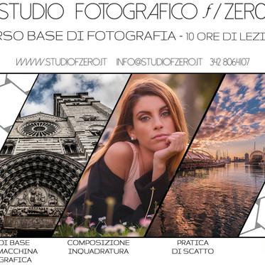 Corso Base di fotografia a Genova
