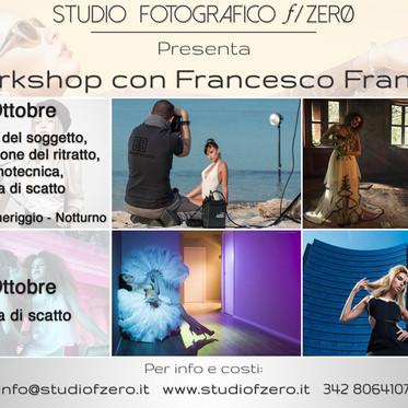 Workshop di Ritratto con Francesco Francia