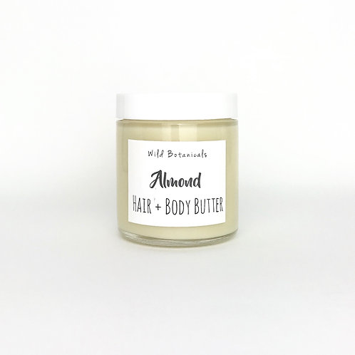 Almond Hair and Body Butter