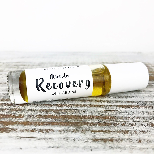 CBD Muscle Recovery Aromatherapy Roll On