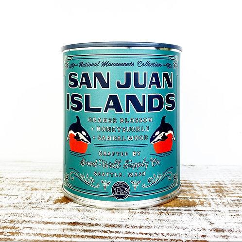 14oz San Juan Islands Candle
