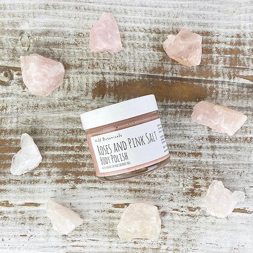 3oz Roses and Pink Salt Body Polish