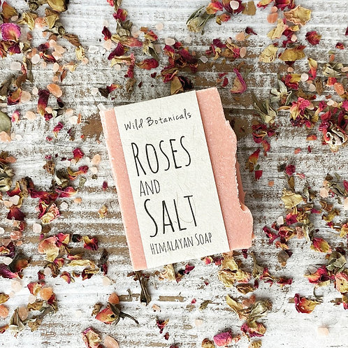 Roses and Salt Himalayan Soap