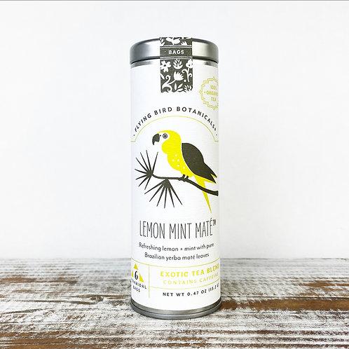 Lemon Mint Mate Tea