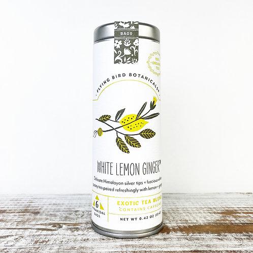 White Lemon Ginger Tea