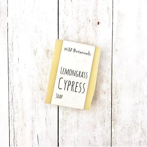 Lemongrass Cypress Soap