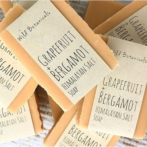 Grapefruit Bergamot Salted Soap