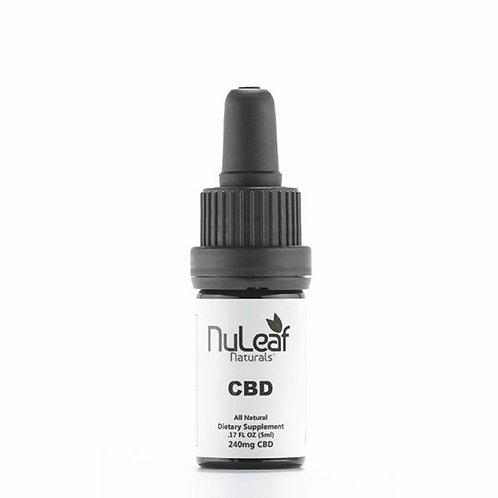 NuLeaf 240mg Full Spectrum CBD Oil, High Grade Hemp Extract (50mg/ml)