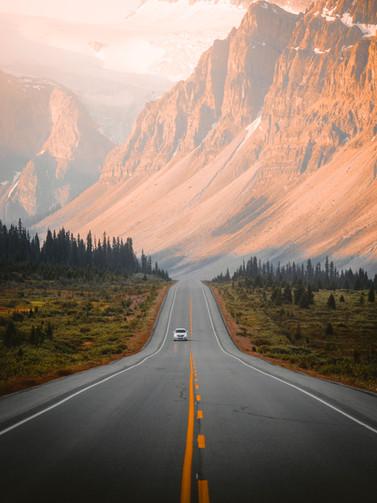 Icefeilds Parkway, Alberta, Canada