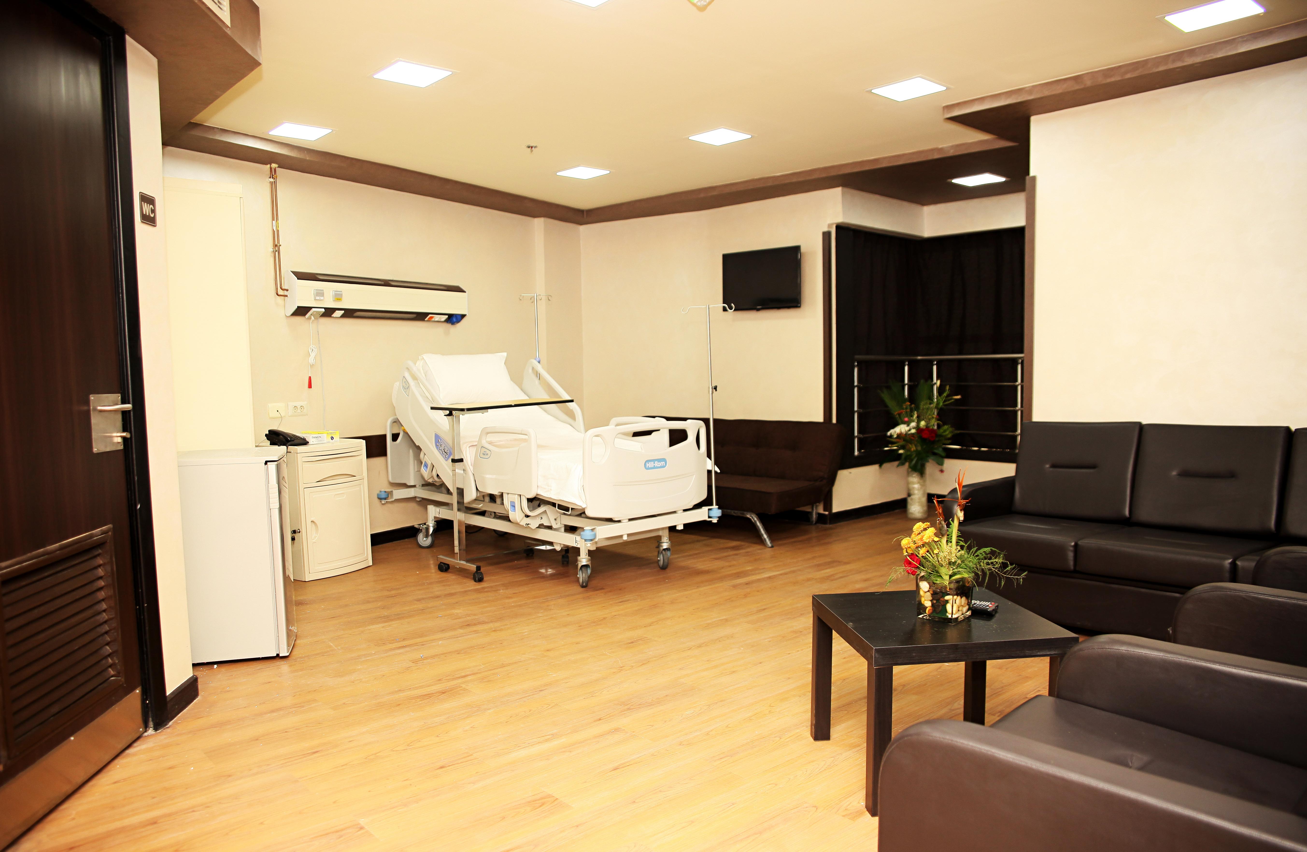 الإقامة بالمستشفى